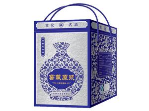 窖藏原浆--蓝花瓷
